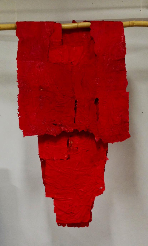 Kimono rouge de l'impératrice